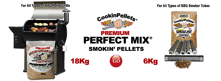 Premium Perfect Mix® BBQ Smoking - CookinPellets®